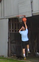 Shooting Layups - Right hand