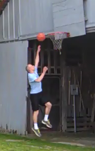 Shooting Layups - Left hand